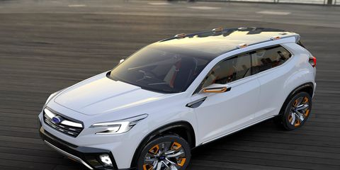 Tokyo is the place we'll see two new Subaru concepts