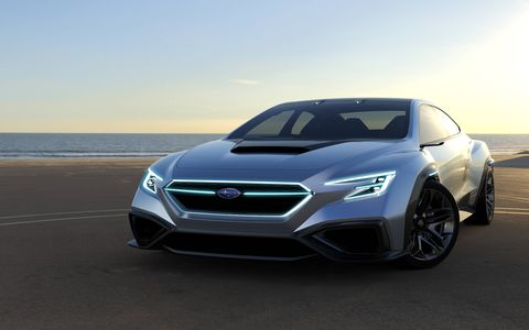 The Viziv, which debuted at the Tokyo Motor Show, could be the future of the WRX.