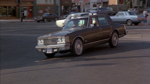 The owner of the car wash drives this (Chevy Nova-based) Cadillac Seville.