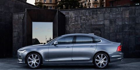 The S90L, seen in the rendering above, will only be stretched by 4 to 5 inches at the B-pillar, with the rear doors receiving the extra inches of sheetmetal. Volvo is expected to move the rear seats back a few inches to buy a little more legroom.