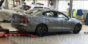 A leaked image of a Volvo S60 was first published this week by Sweden's Teknikens Varld.