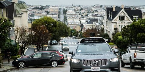 Uber has to cease all autonomous-vehicle operations immediately per California regulators.