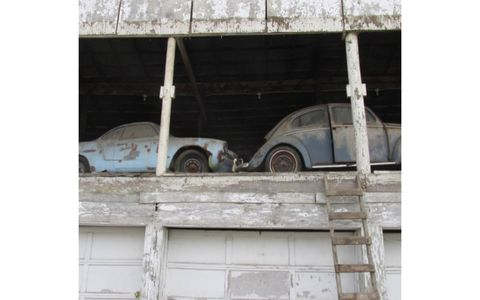 25 Volkswagens in project condition and hundreds of parts will be offered this June in Iowa.