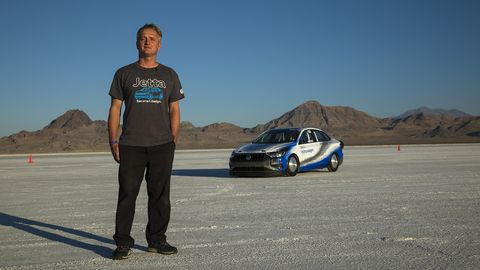 Tom Habrzyk built this incredibly predictable and sturdy 200 mph race car in his shop in Ventura, California.