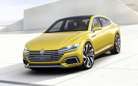 The 2015 Volkswagen Sport Coupe Concept GTE makes it debut in Geneva this week.
