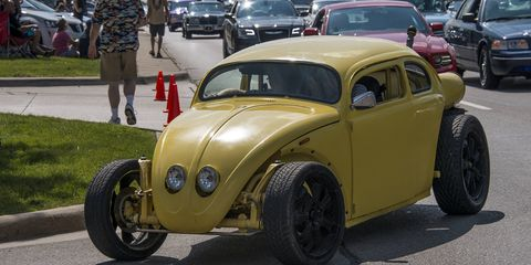 Saturday is the main event for the cruise, as thousands of cars pour into the city.