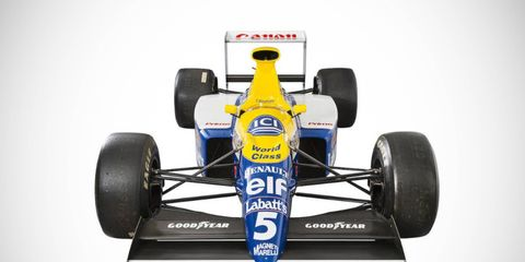 The Williams-Renault FW13B was campaigned during the 1990s season.