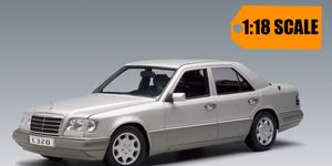 AutoArt has replicated the E320 from 1995 in 1:18 scale, but just like the real thing back in the day it's not cheap.