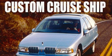 The Olds Custom Cruiser was available for a grand total of two model years.