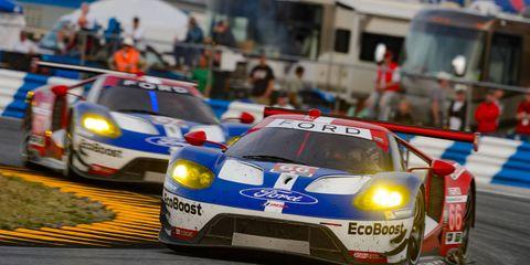 The No. 66 Ford GT finished 31st at Daytona International Speedway on Sunday.