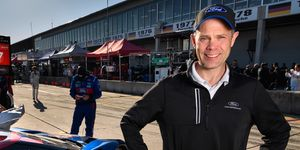 Mark Rushbrook is in his first year in the hot seat atop the Ford Performance motorsports' operation.