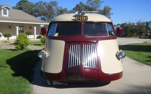 This restomodded 1941 Brook Stevens Western Flyer RV showed up on eBay with an updated driveline and newer interior.