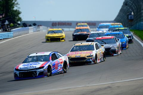 Sights from the NASCAR action at Watkins Glen International Sunday August 5, 2018.