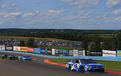 Sights from the Monster Energy NASCAR Cup Series I Love New York 355 at Watkins Glen International Sunday, Aug. 6, 2017.