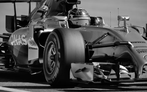 Pole sitter Nico Rosberg is on a mission for Mercedes at Circuit of the Americas.