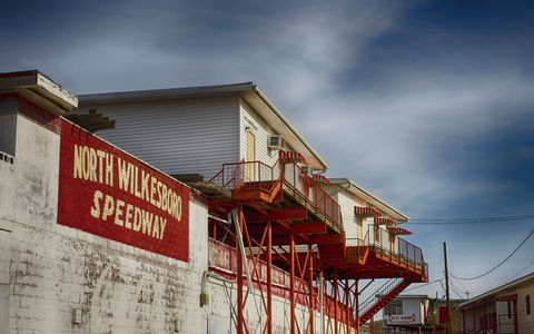 We took a tour of North Wilkesboro Speedway.
