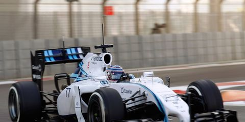 Williams will have a new sponsor on its sidepod in 2015.
