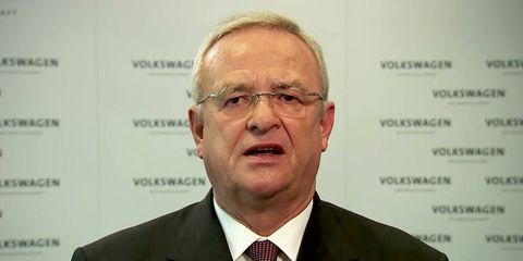 Martin Winterkorn was charged for his role in the Volkswagen diesel scandal.