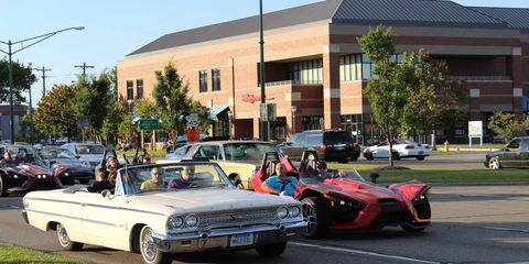 Photos from the 2015 Woodward Dream Cruise -- the week leading up to the Cruise.
