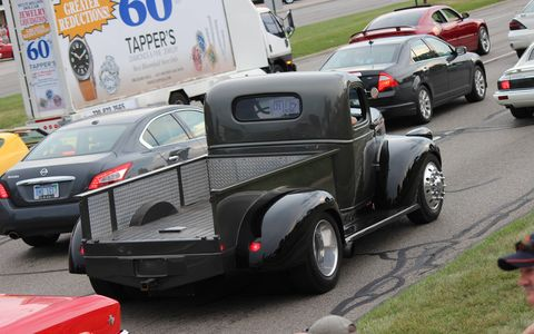 The 2015 Woodward Dream Cruise was in full swing Friday night and on Saturday -- the only actual official day of the event.