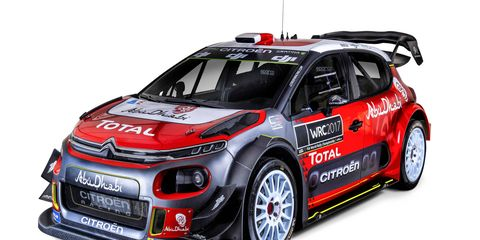 Teams of the World Rally Championship unveiled their 2018 liveries at the Autosport International Show in Birmingham, U.K. on Thursday.