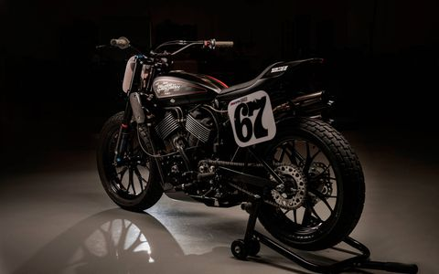 Harley Davidson replaces the legendary XR750 race bike with the new XG750R.