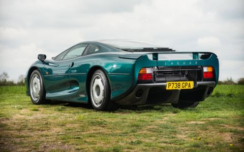 The Jaguar XJ220 started out as a pet project by engineers.