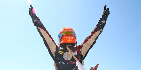Christopher Bell was the king of Salem (IN) Speedway on Saturday.
