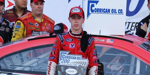 Jones won by 20 seconds over second-place finisher Austin Theriault.