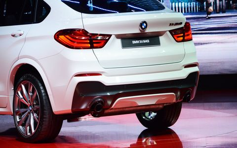 The BMW X4 M40i made its debut at the 2016 Detroit auto show.