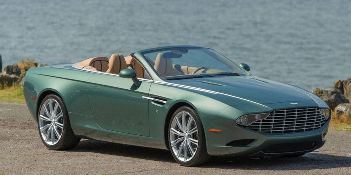 Zagato S One Off Aston Martin Db9 Centennial Spyder Is A Concept Collectors Can Buy