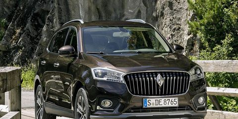 The BX7 will make its debut in Frankfurt next week, but it'll go on sale in China at first.