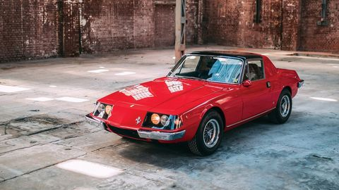 This 1967 Ferrari 330 GTC Zagato is one of just a handful of Ferraris bodied by Zagato.