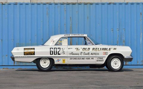 This factory lightweight 1963 Chevrolet Impala could fetch nearly a million dollars.