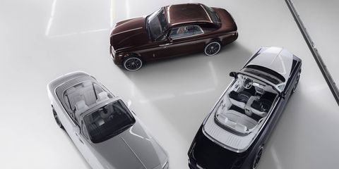 The last Phantom Coupe and Drophead Coupe will take with them pieces of the assembly line itself.