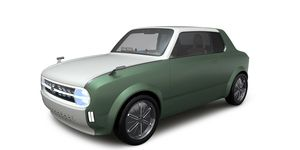 The retro-styled concept will be shown at the end of the month at Tokyo motor show.
