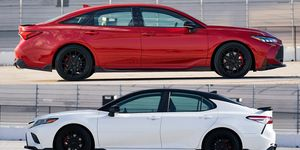 Toyota tightened the steering, chassis and brakes on the TRD versions of the 2020 Camry and Avalon.
