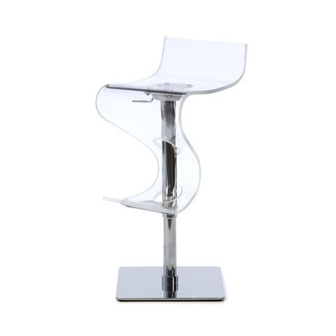 all modern Viva Barstool in clear