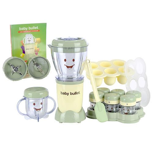 Baby Bullet Complete Baby Food Maker