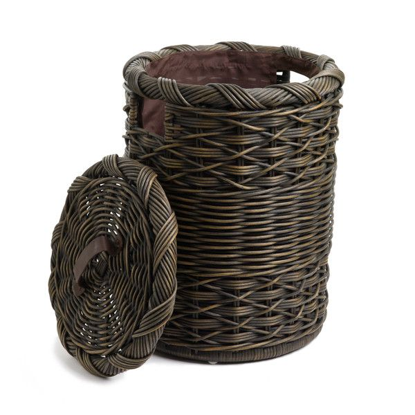 basket lady small wicker hamper