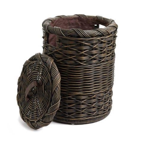 basket lady small wicker hamper