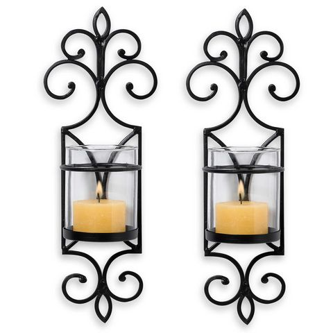 11 Best Wall Mounted Candle Sconces For 2018 Decorative