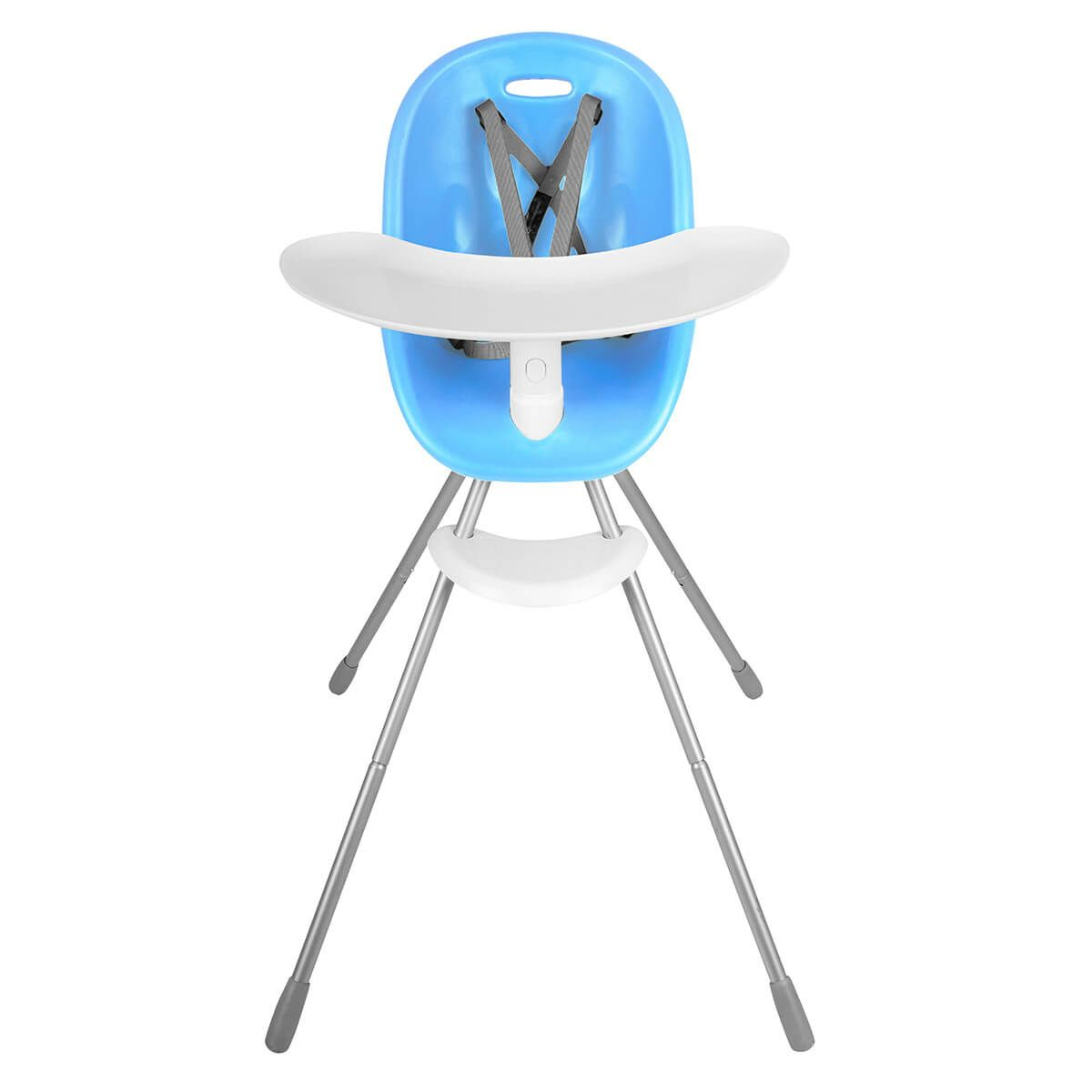 Phil & Ted's Poppy High Chair in Bubblegum blue