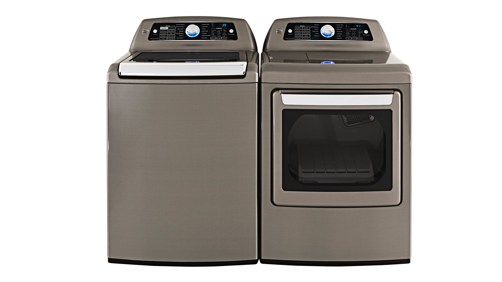 kenmore elite high efficiency washer and steam dryer