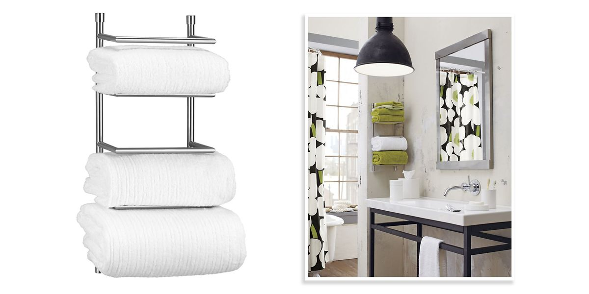 10 Best Bathroom Towel Racks 2018 - Chic Towel Bars & Racks