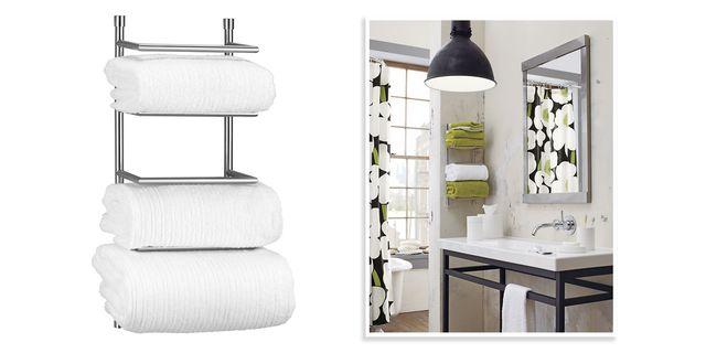 10 Best Bathroom Towel Racks 2018 - Chic Towel Bars & Racks