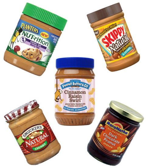 jars of peanut butter