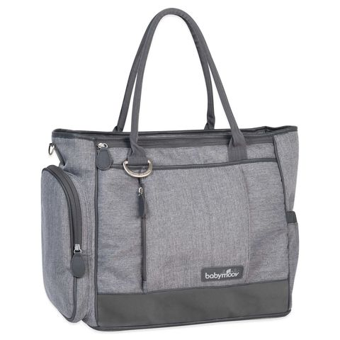 babymoov essential diaper bag in smokey
