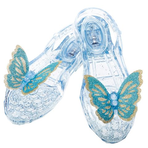 disney cinderella enchanted waltz light up glass slippers