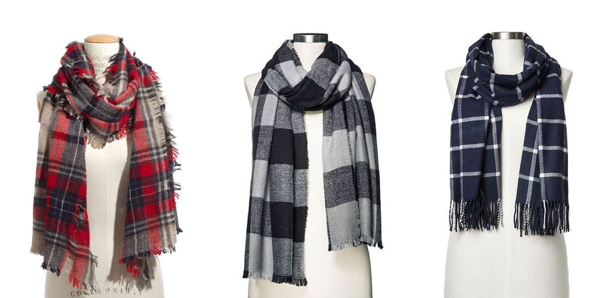 10 Best Plaid Scarves In 2018 Checkered Plaid And Tartan